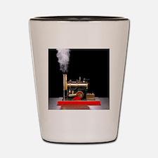 Model steam engine Shot Glass