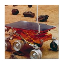 Model of the Mars Pathfinder rover So Tile Coaster