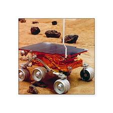 "Model of the Mars Pathfinde Square Sticker 3"" x 3"""