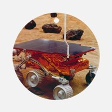 Model of the Mars Pathfinder rover  Round Ornament