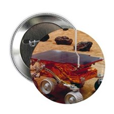 """Model of the Mars Pathfinder rover So 2.25"""" Button"""