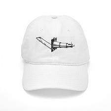 Brass solar microscope for projecting large im Baseball Cap