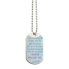 Darcy Quote Dog Tags