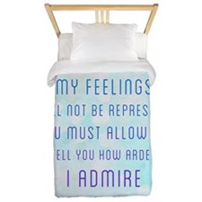 Darcy Quote Twin Duvet