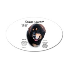 Tibetan Mastiff Wall Decal