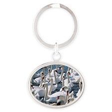 z8280106 Oval Keychain