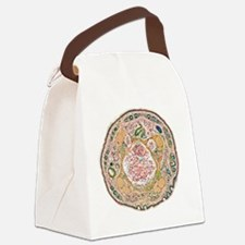 Mouse tail, light micrograph Canvas Lunch Bag