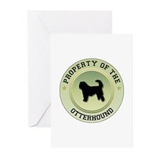 Otterhound Property Greeting Cards (Pk of 10)
