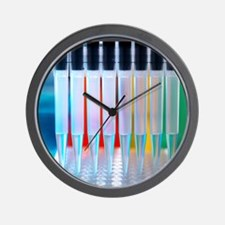 Multi-channel pipette Wall Clock