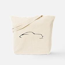Porsche 911 Black Tote Bag
