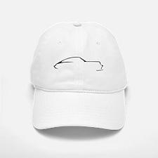 Porsche 911 Black Baseball Baseball Cap