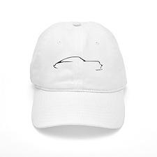 Porsche 911 Black Baseball Cap