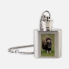 Muskox Flask Necklace