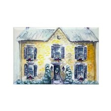 Rosemary Clooney House Watercolor Rectangle Magnet