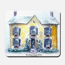 Rosemary Clooney House Watercolor Mousepad