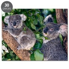 Mother koala and young Puzzle