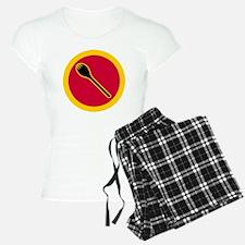 Spork Superhero - full blee Pajamas