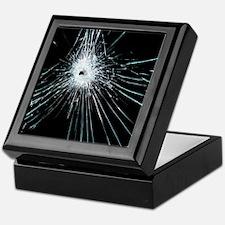Broken glass Keepsake Box