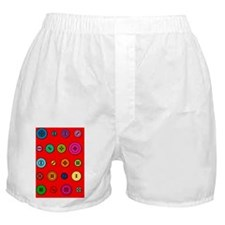 Buttons Boxer Shorts