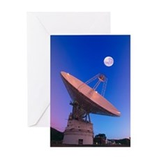 NASA deep space tracking station, Au Greeting Card