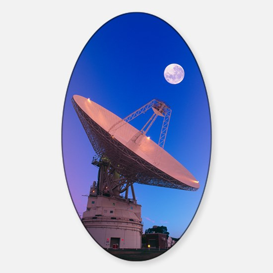 NASA deep space tracking station, A Sticker (Oval)