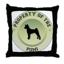 Pumi Property Throw Pillow