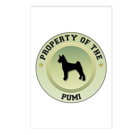 Pumi Property Postcards (Package of 8)