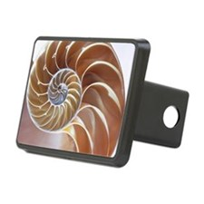 Nautilus shell Hitch Cover