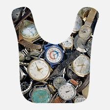 Broken wrist-watches Bib