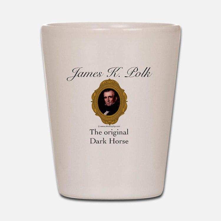 James K. Polk Shot Glass