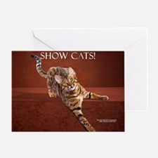 Show Cat Calendar Greeting Card