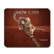 Show Cat Calendar Mousepad