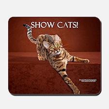 Show Cat Calendar Mousepad