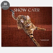 Show Cat Calendar Puzzle
