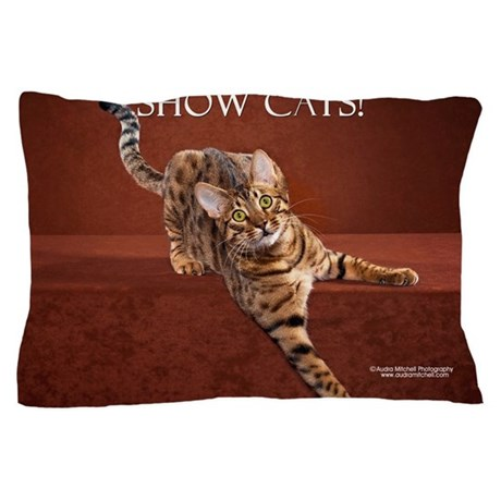 Show Cat Calendar Pillow Case