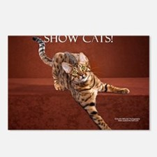 Show Cat Calendar Postcards (Package of 8)