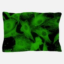 Cell microtubules/cytoskeleton Pillow Case