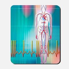 Cardiovascular system Mousepad