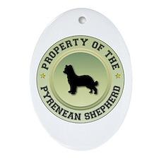 Shepherd Property Oval Ornament