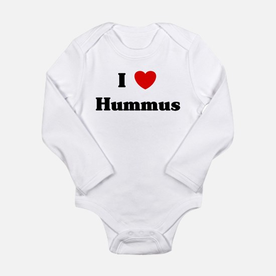 I love Hummus Infant Bodysuit Body Suit