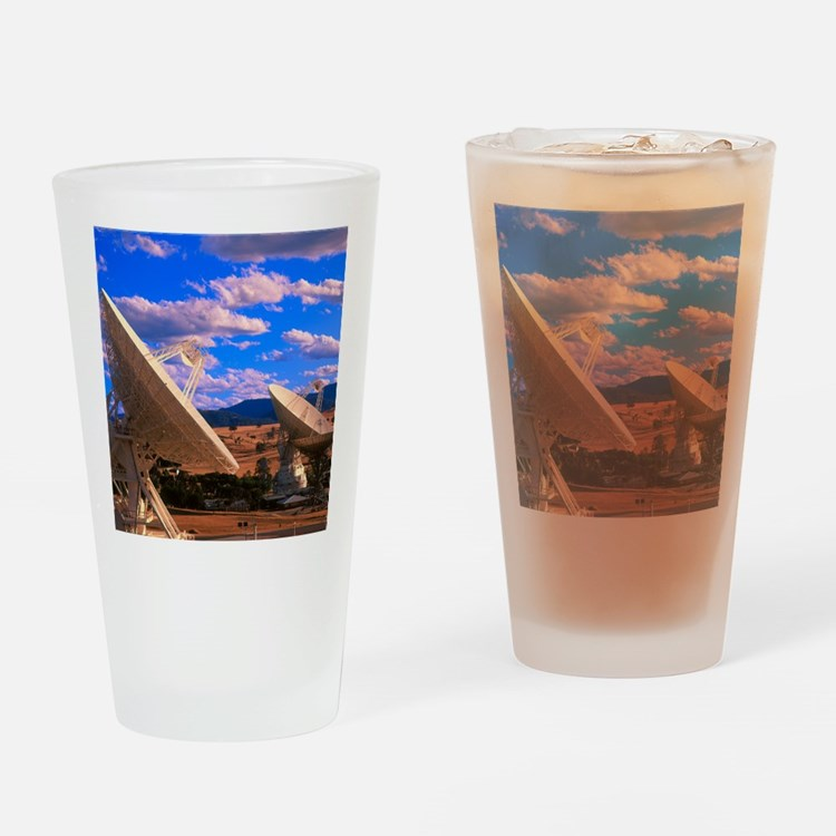 NASA deep space tracking station, A Drinking Glass