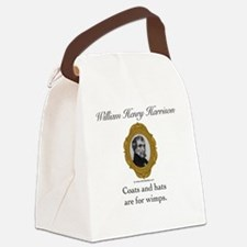 William Henry Harrison Canvas Lunch Bag