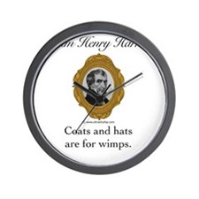 William Henry Harrison Wall Clock