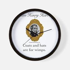 William Henry Harrison Wall Clock