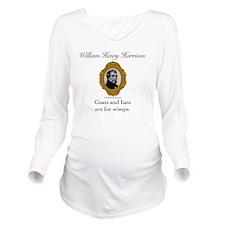 William Henry Harris Long Sleeve Maternity T-Shirt