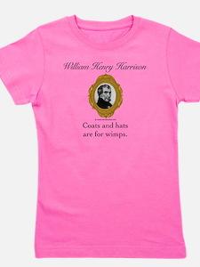 William Henry Harrison Girl's Tee