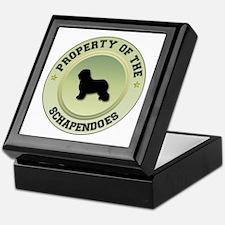 Schapendoes Property Keepsake Box