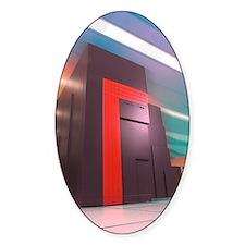 NERSC supercomputer Decal