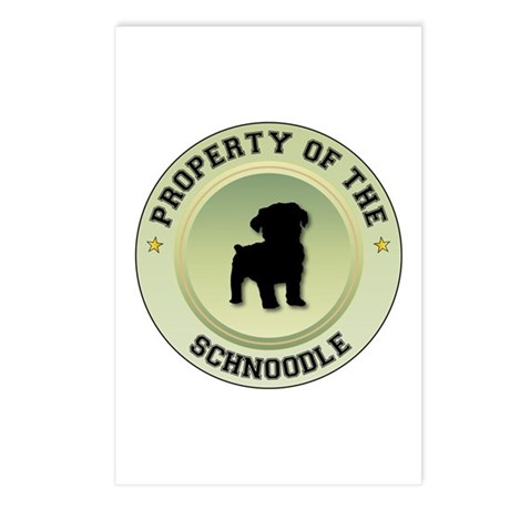 Schnoodle Property Postcards (Package of 8)