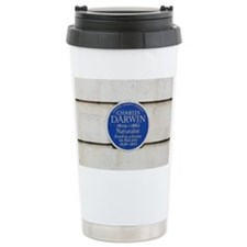 Charles Darwin commemorative pl Travel Mug